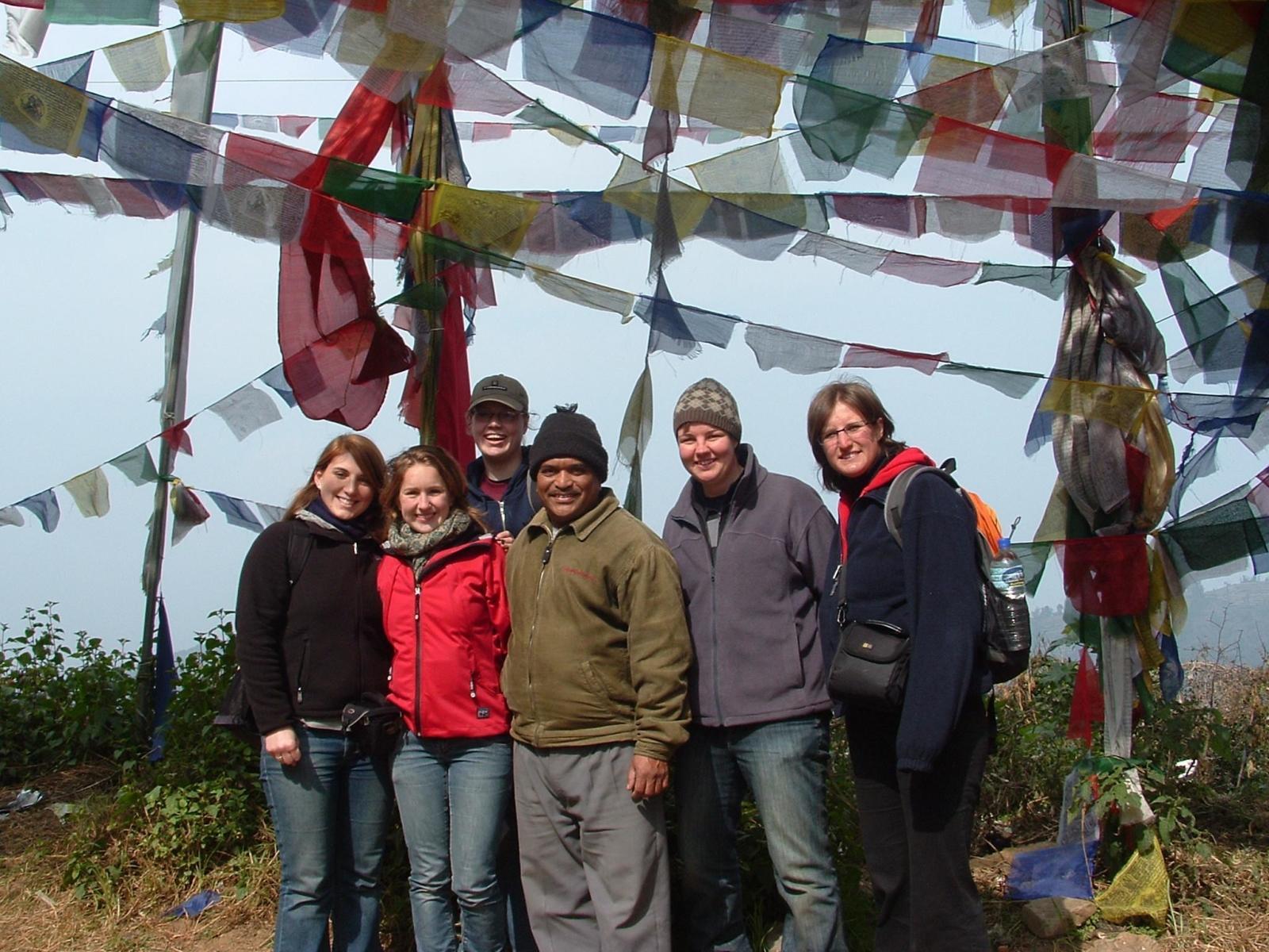 Anne Mieke T in Nepal